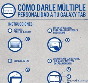 Trucos Galaxy tab