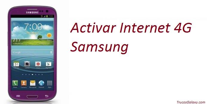 activar 4g samsung galaxy j1-j2-j3-j4-j5-j7