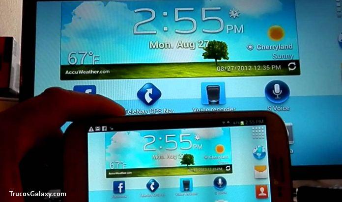 Conectar Un Samsung J5 J7 A La Tv Trucos Galaxy