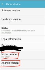 actualizar android 6.0 galaxy s6