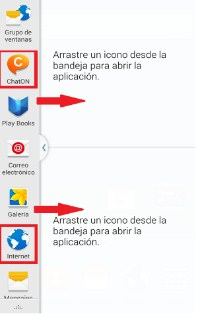 aplicaciones en multi ventanas