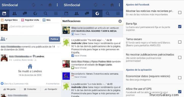 facebook slim