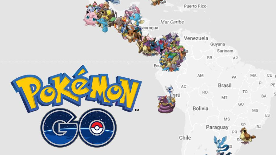 Pokemon go sudamerica