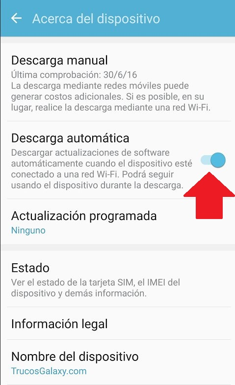 actualizar android 6.0 samsung