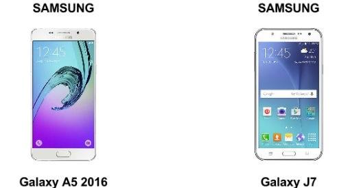 Diferencia Entre Samsung A5 Y J7