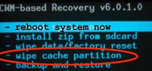 limpiar cache samsung j7