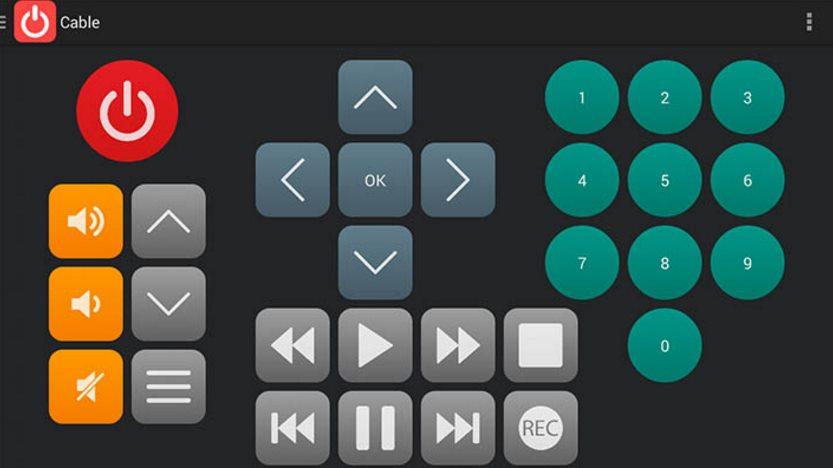 mando para tv infrarrojo