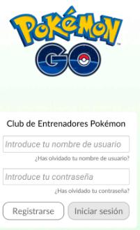 reiniciar pokemon go