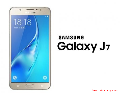 samsung j7 led notificaciones