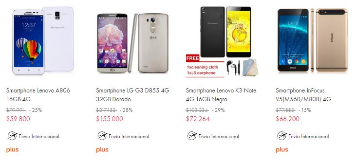 celulares chinos chile