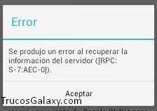 error-rpc-s-7-aec-7