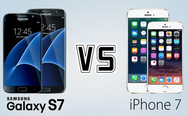 samsung galaxy s8 vs iphone 7 cual es mejor