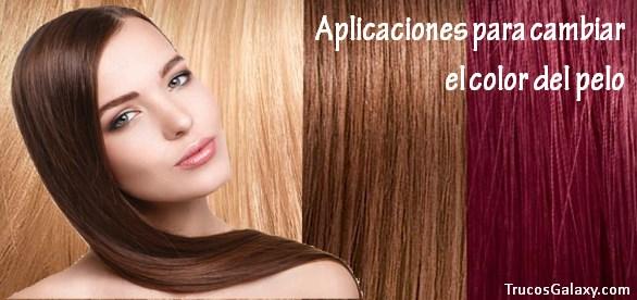 Cambiar color de pelo a una foto