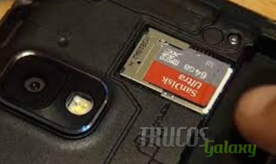 tarjeta de memoria vacia
