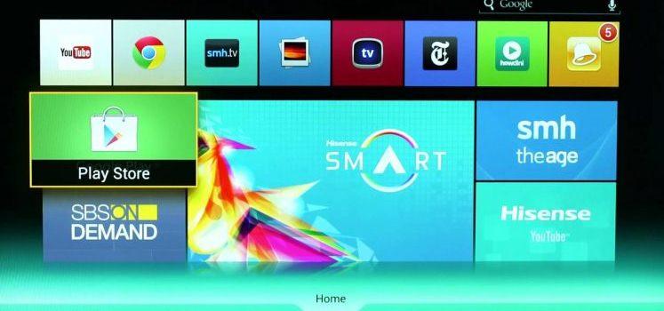 descargar google play smart tv hisense