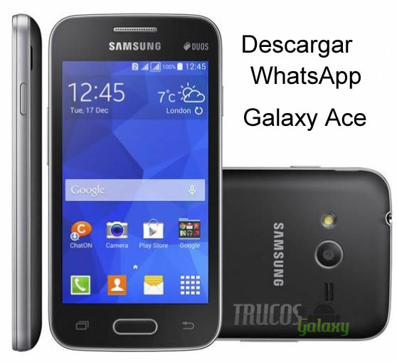whatsapp samsung galaxy ace gt-s5839i