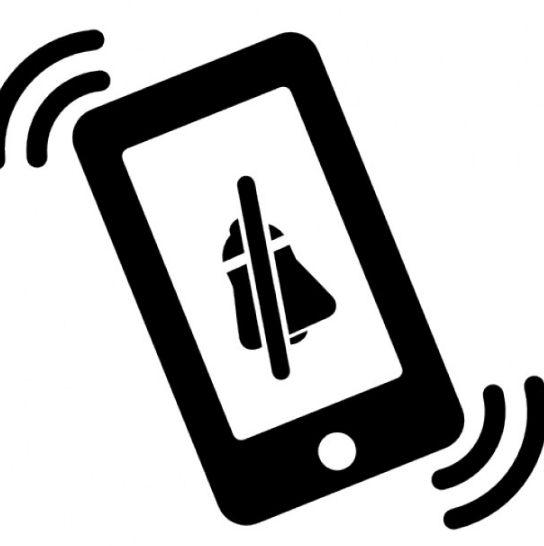 ¿Porqué cada vez son más los que prefieren poner el celular en modo silencio?