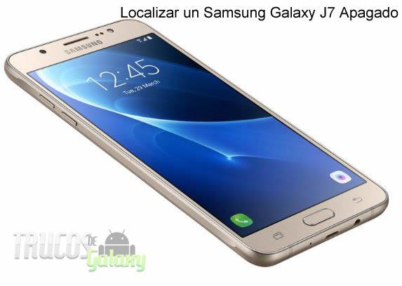 como rastrear celular samsung galaxy j7