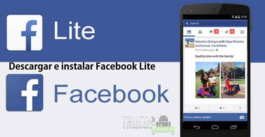 facebook aplicación descargar