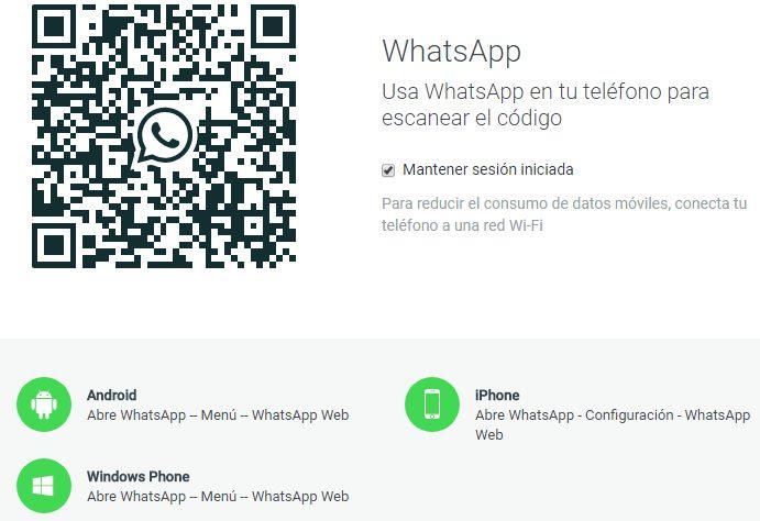 descargar qr whatsapp