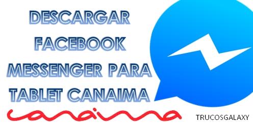 descargar facebook messenger para mi celular gratis