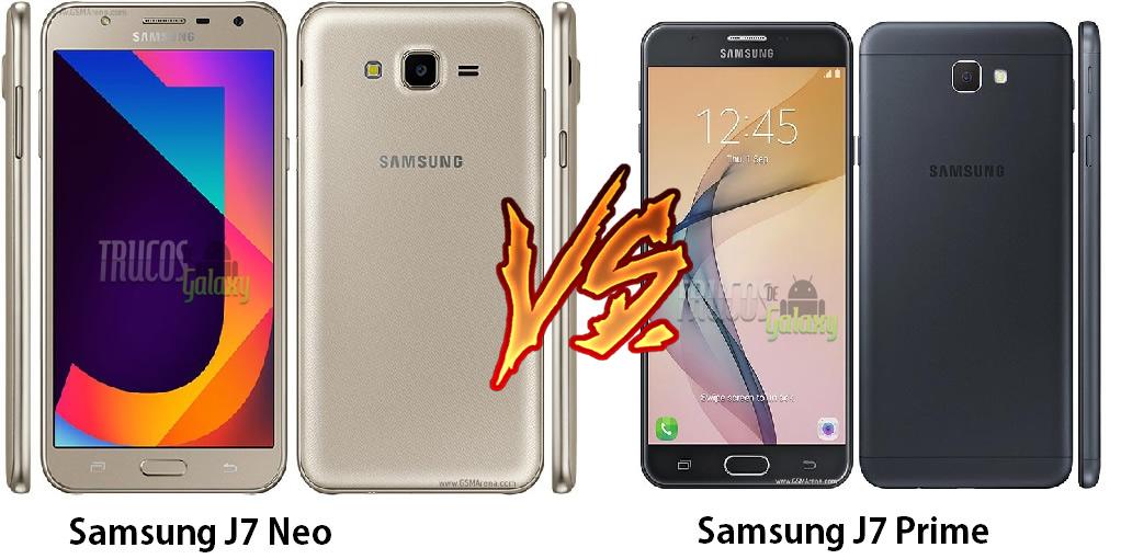 Cual Es Mejor Samsung J7 Prime O Neo
