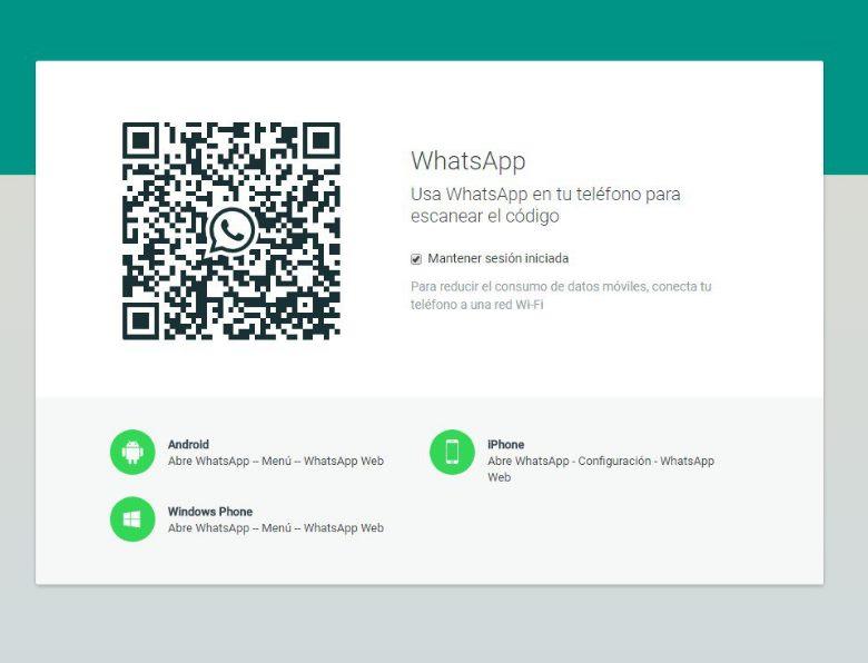 whatsapp carga
