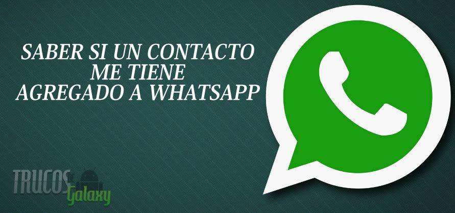 C mo saber si un contacto me tiene agregado en whatsapp - Como saber si un coche tiene cargas ...