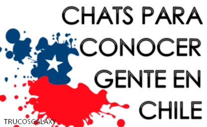 Chat conocer gente