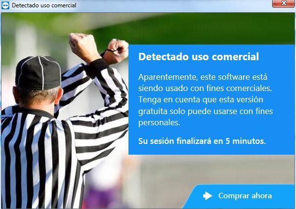 Resultado de imagen para teamviewer uso comercial detectado