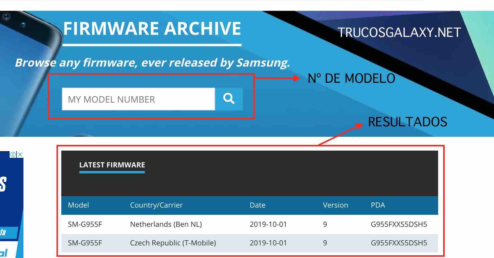 firmware tablet samsung sm.t550 descargar pc